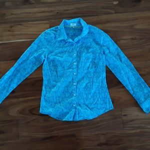 Crown & ivy XS long sleeved top made in India